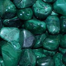 Load image into Gallery viewer, Malachite Tumble Stone