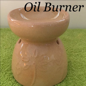 Beige Ceramic Oil Burner