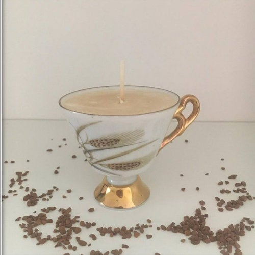 Espresso Cup Soy Wax Candle