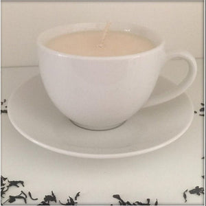 White Tea Cup Soy Wax Candle
