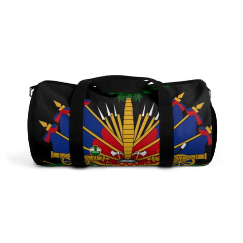 Black Coat of Arm Duffel Bag