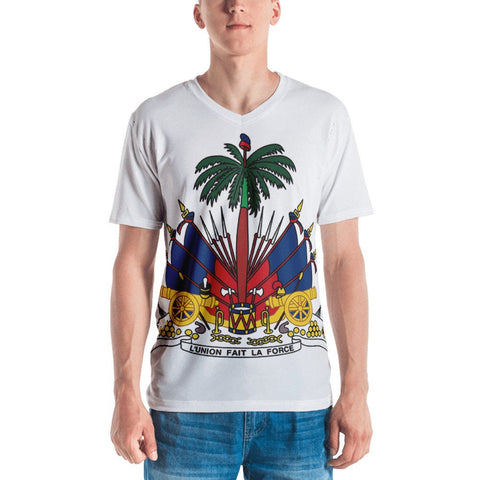 Coat of Arm V-Neck T-Shirt