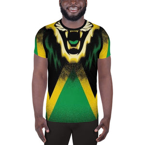 Jamaican King Men's Athletic T-shirt