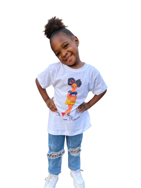 Haitian Princess Girls T-Shirt