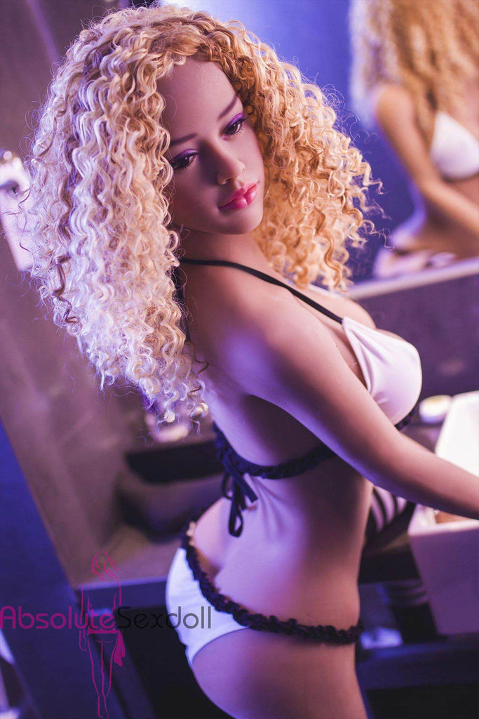 Rihana 148cm Charming Curly Haired Sex Doll