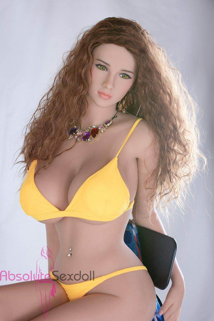 Lana 158cm Delectable Curly Haired Sex Doll