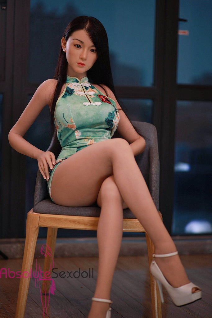 Carolina 157cm Luscious  Asian Sex Doll With Silicone Head