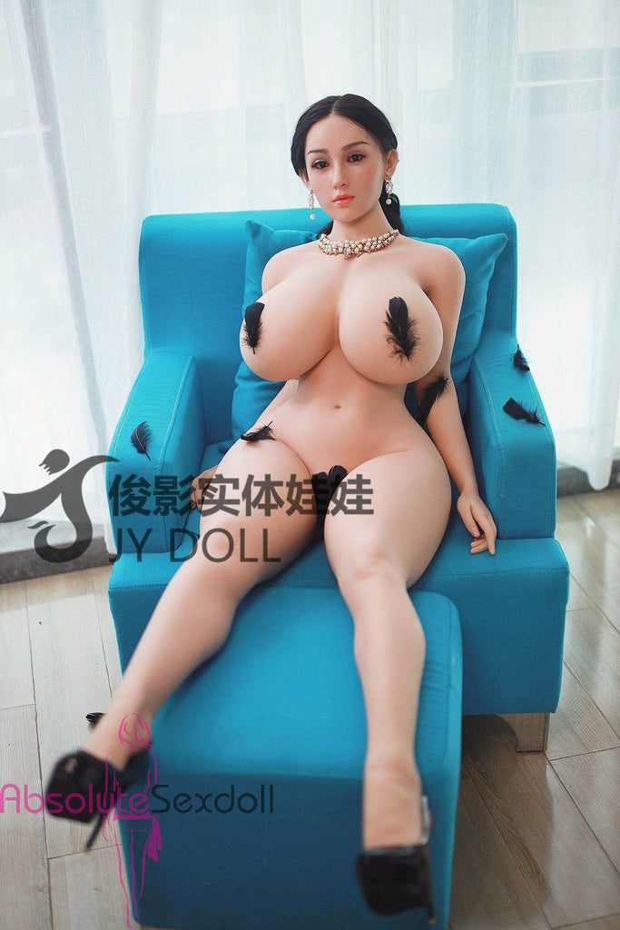 Annabella 159cm Adorable Brunette Sex Doll With Silicone Head