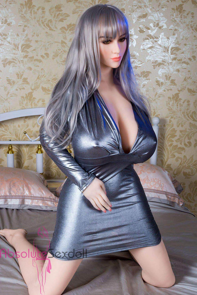 Sofia 167cm J-Cup Courageous Silver Hair Sexy Sex Doll