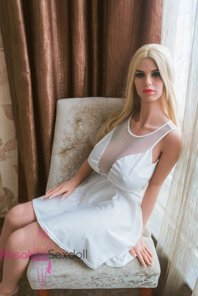 Eleanor 152cm H-Cup Big Breasts Blonde Sex Doll