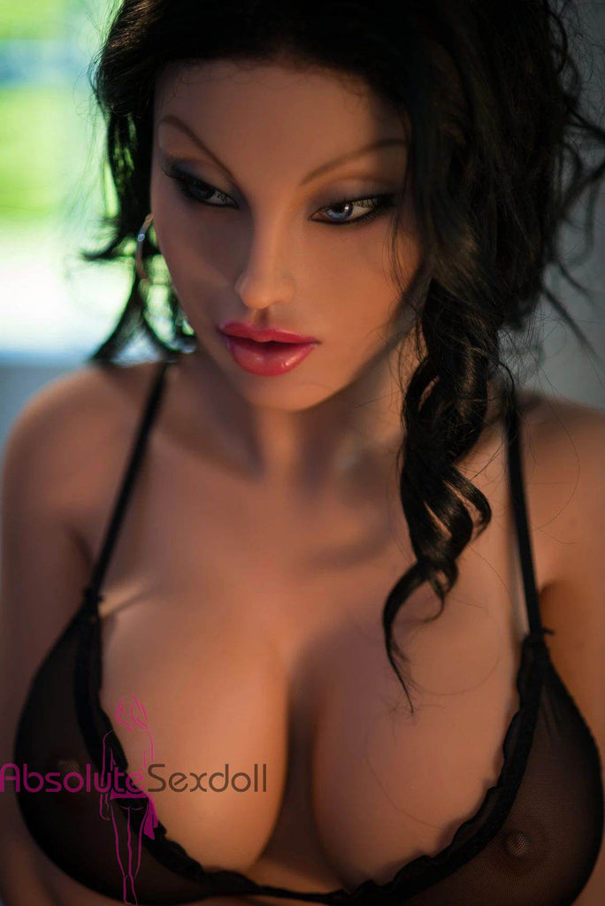 Stella 155cm DD-cup Naughty Brunette Sex Doll