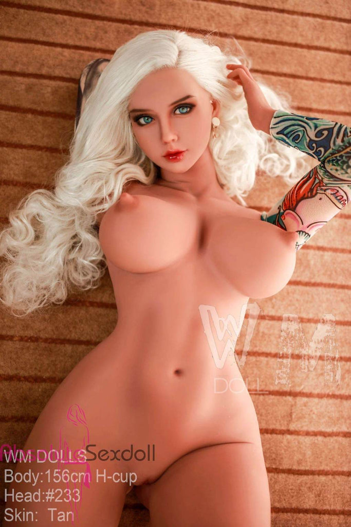 Bailey 156cm H-Cup Attractive Light Blonde Sex Doll