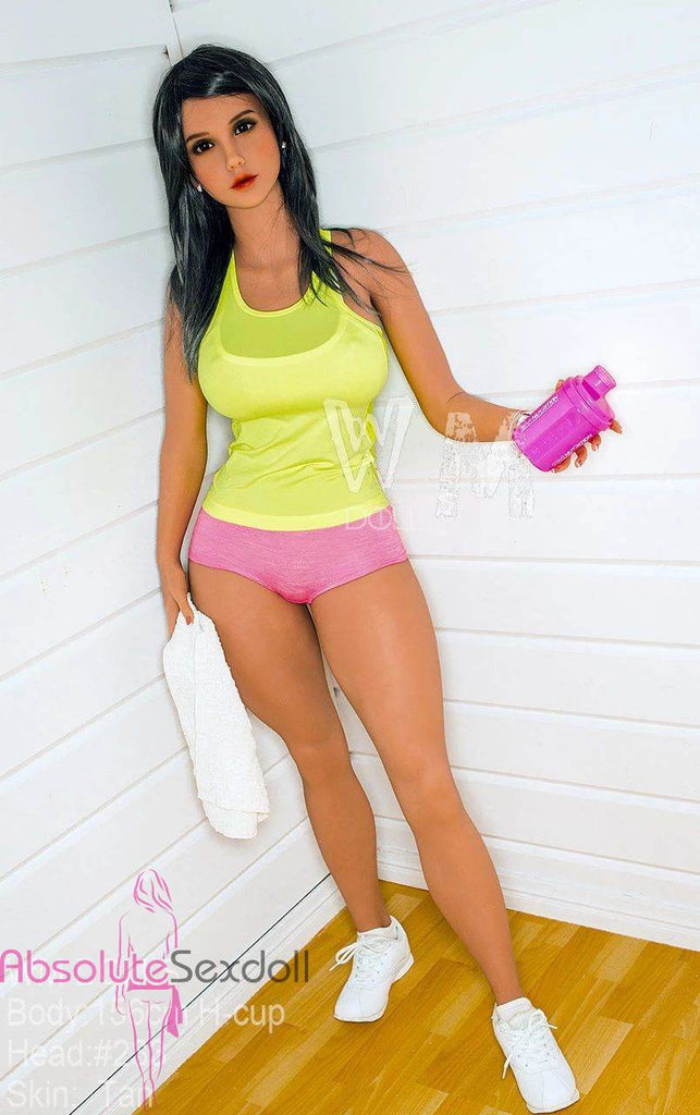 Brianna 156cm H-Cup Fit Dark Hair Sex Doll
