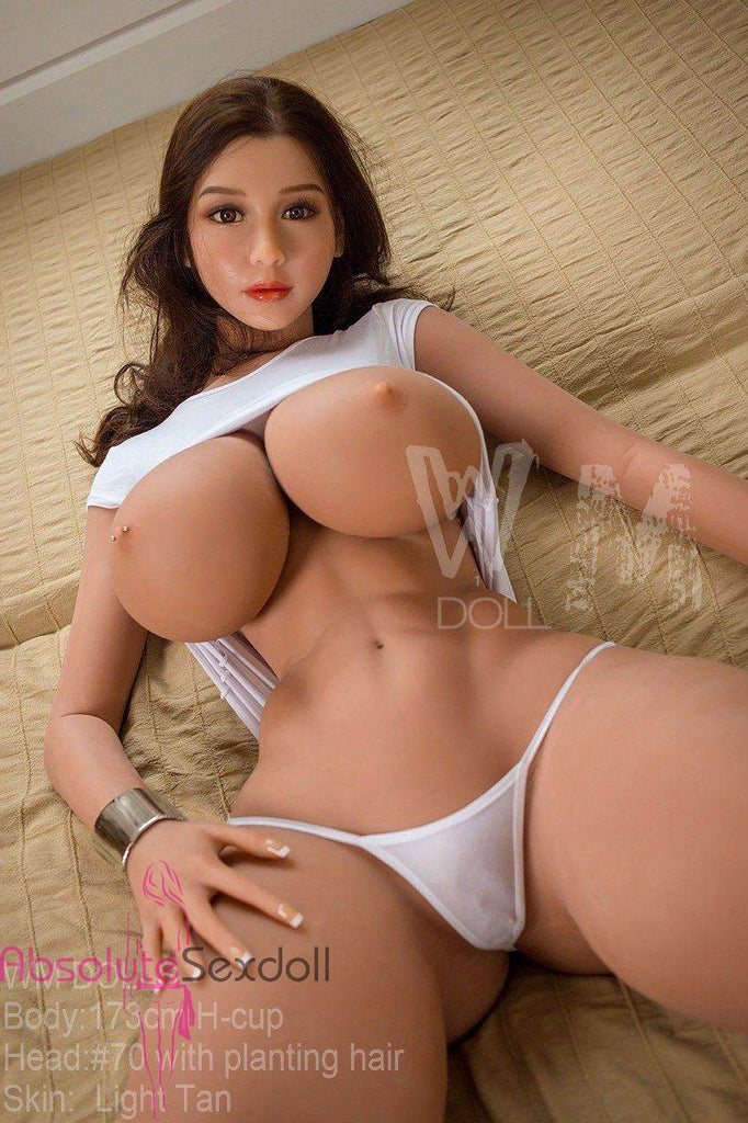 Faith 173cm H-Cup Implanted Brunette Sexy Sex Doll