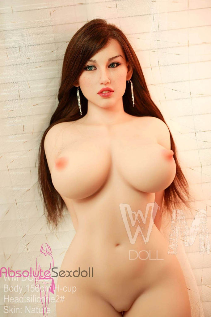 Natalia 156cm H-Cup Silicone Head Brunette High-end Sex Doll