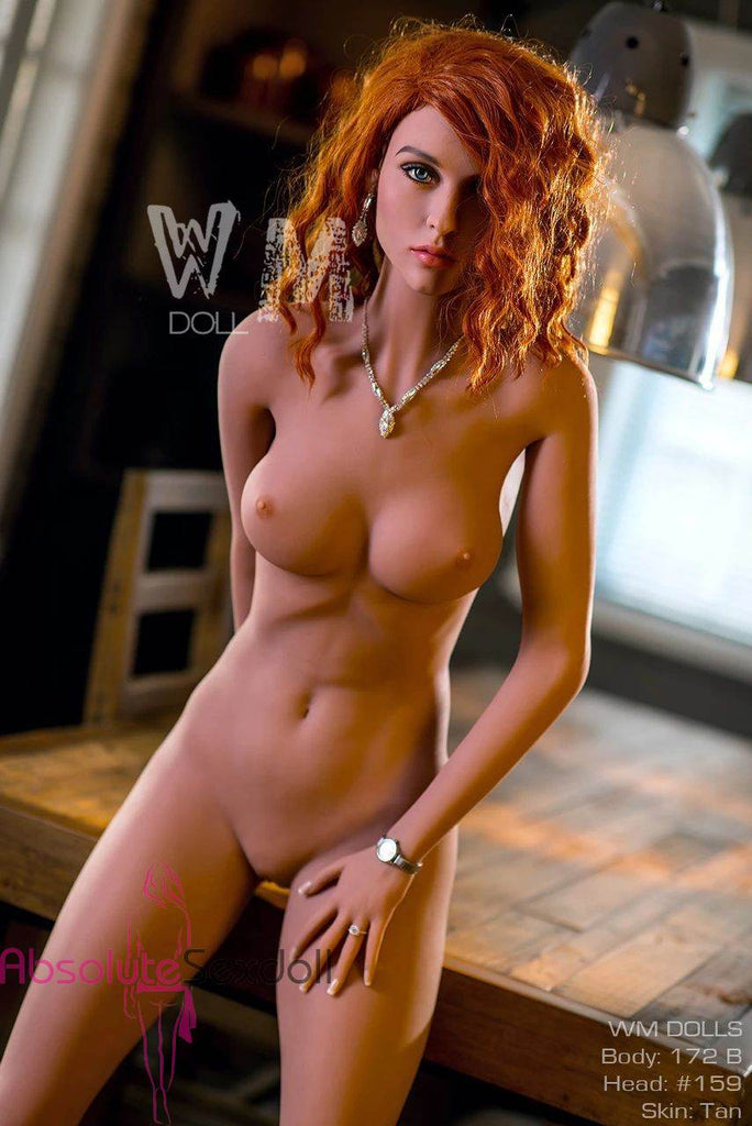 Emery 172cm B Cup Super Model Redhead European Sex Doll