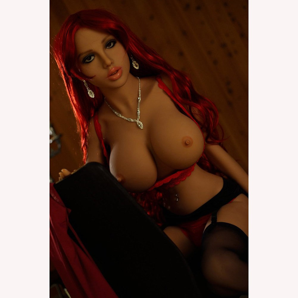 Willow 155cm 5ft1 Foxy Readhead Sex Doll