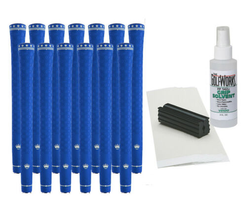 13 Royal LinkTech Golf Grips - All Colors - Standard PLUS* Grip Installation Kit