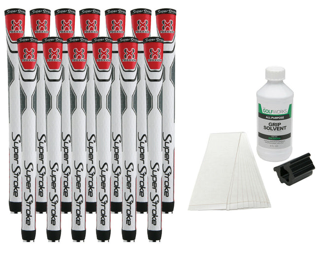 13 Super Stroke Traxion Tour Golf Grips(Grip Kit)