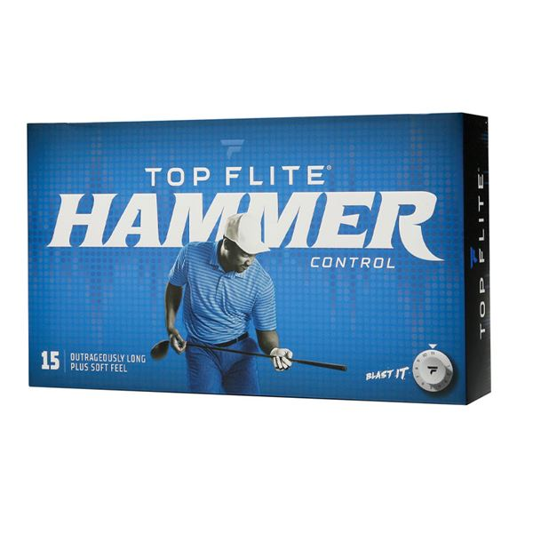 Top Flite Hammer Control Golf Balls – 15 Pack