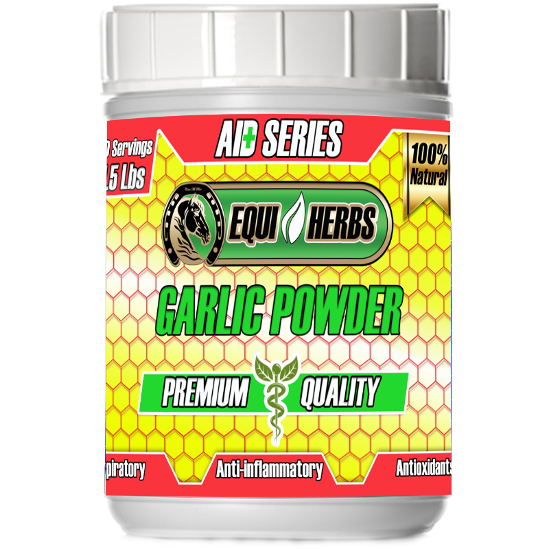 garlic powder for horses