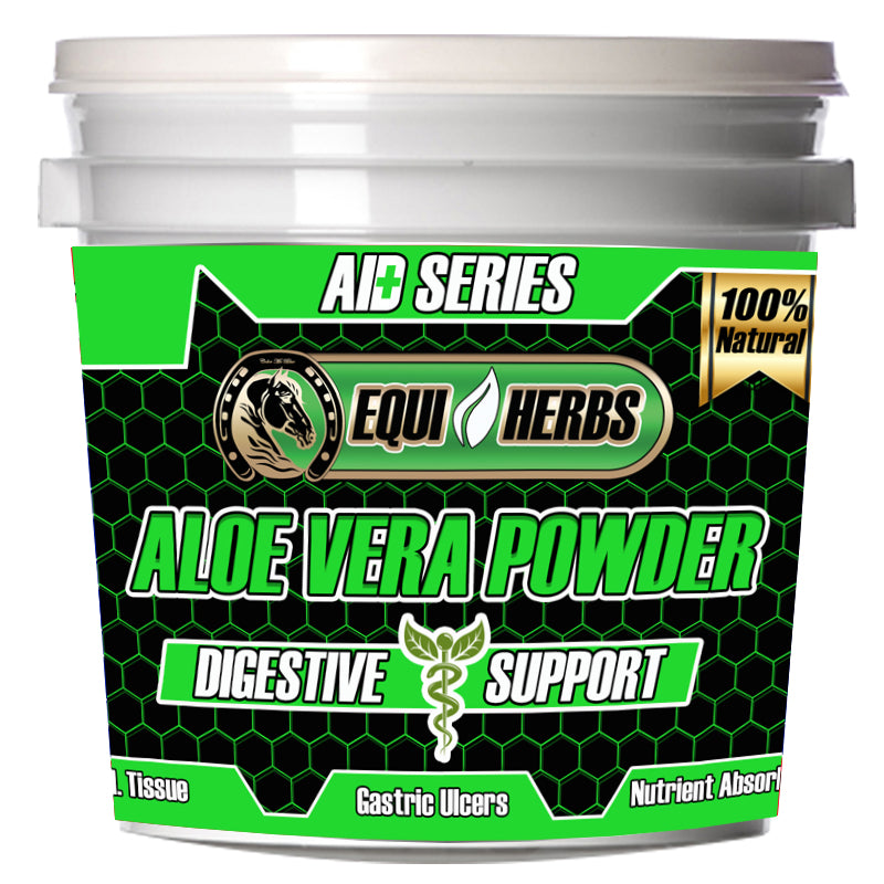 Aloe Vera solution for colic in horses