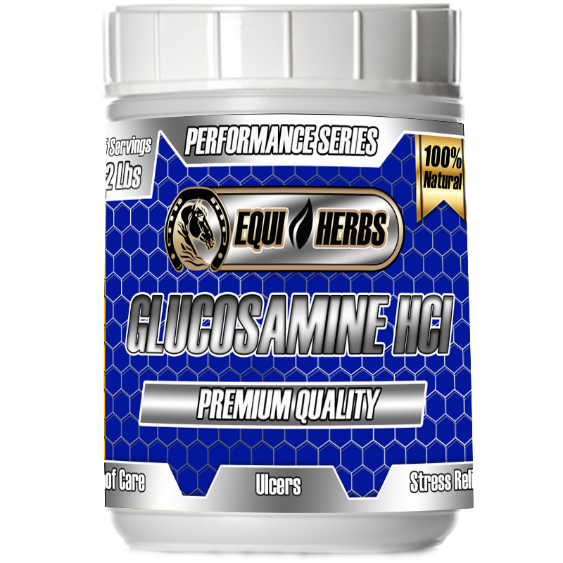 Glucosamine HCI joint supplements for horses