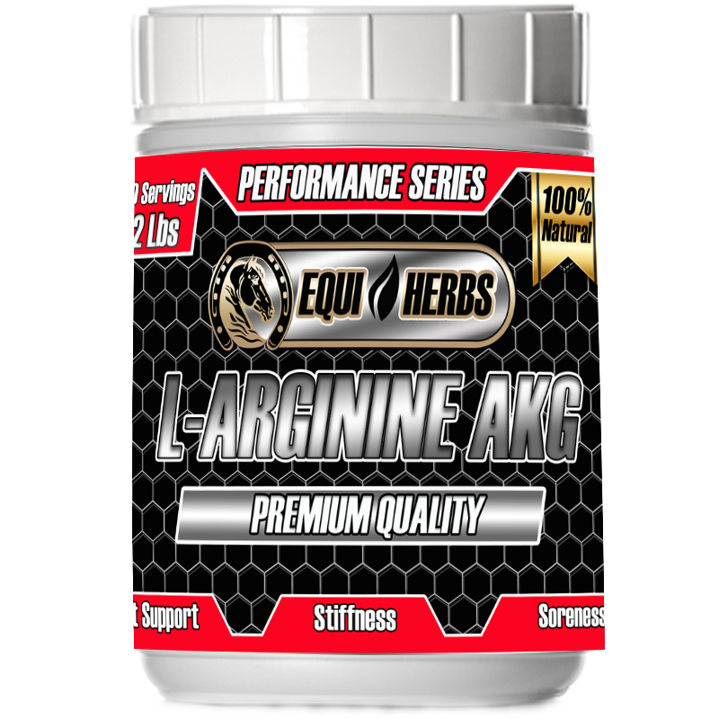 L-Arginine supplements for muscle soreness in horses