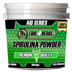 spirulina for horses can help with horse allergy