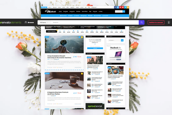 Multicote - News Magazine / WooCommerce WP Theme