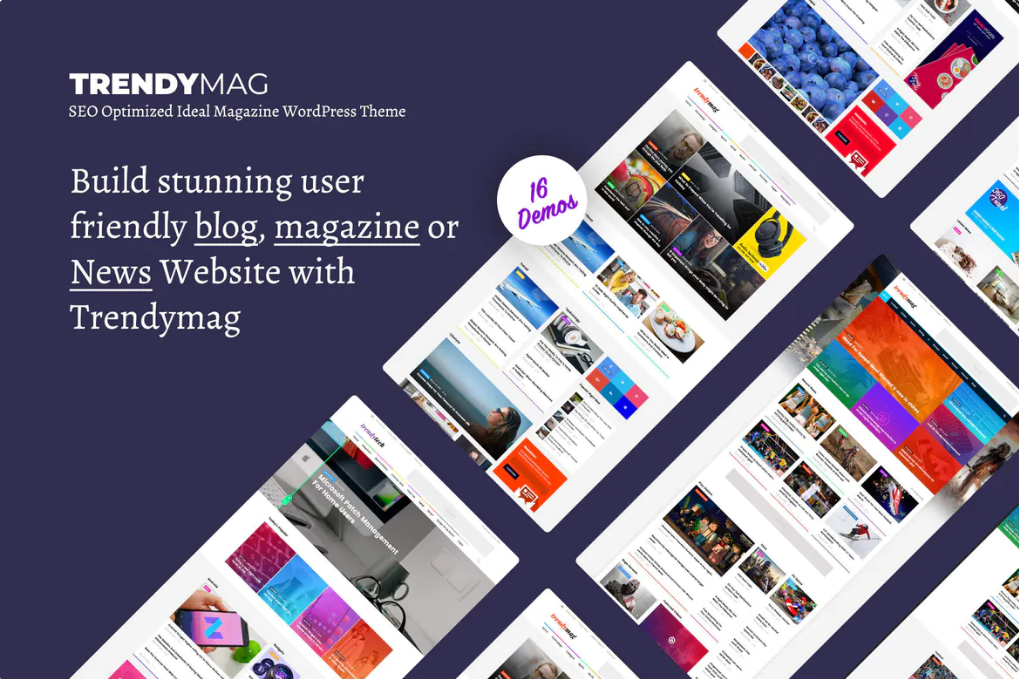 TrendyMag - WordPress News Magazine & Blog Theme - Zipsite
