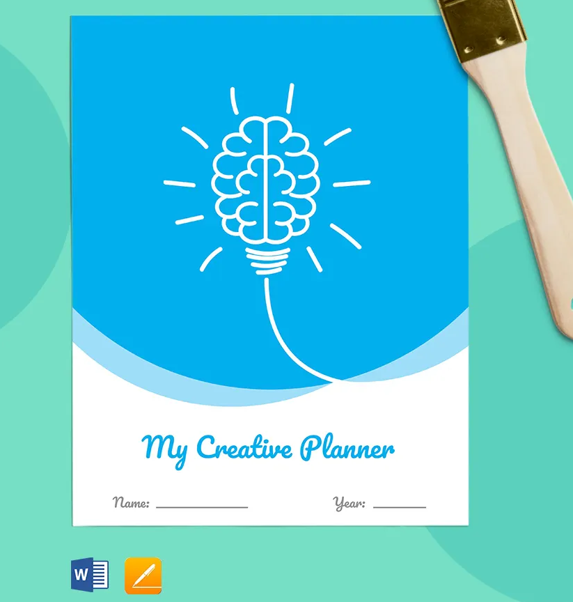 Free Creative Planner Printables For the Busy, Creative People - Free Printables - Zipsite