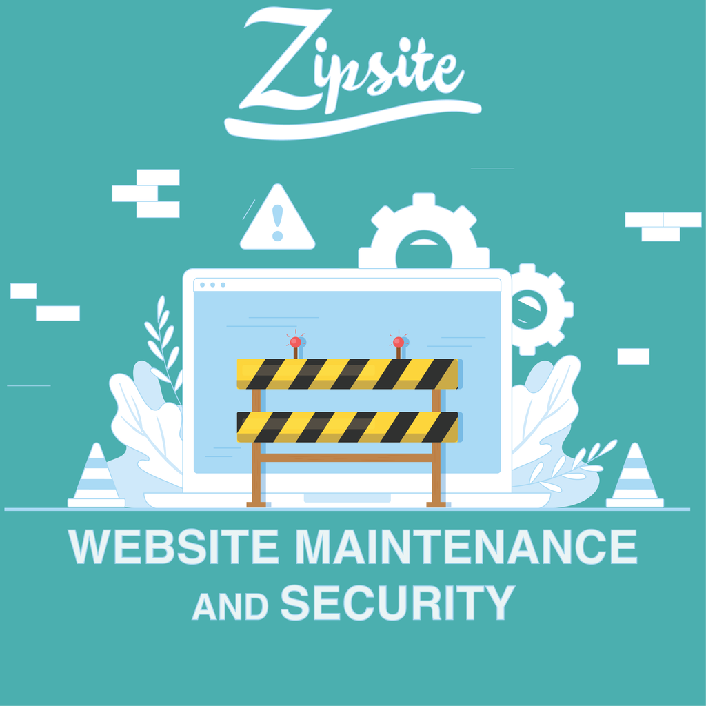 Website Maintenance and Security - Zipsite