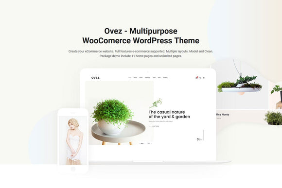 Ovez - A Multi-Concept Multi-Purpose WordPress Theme