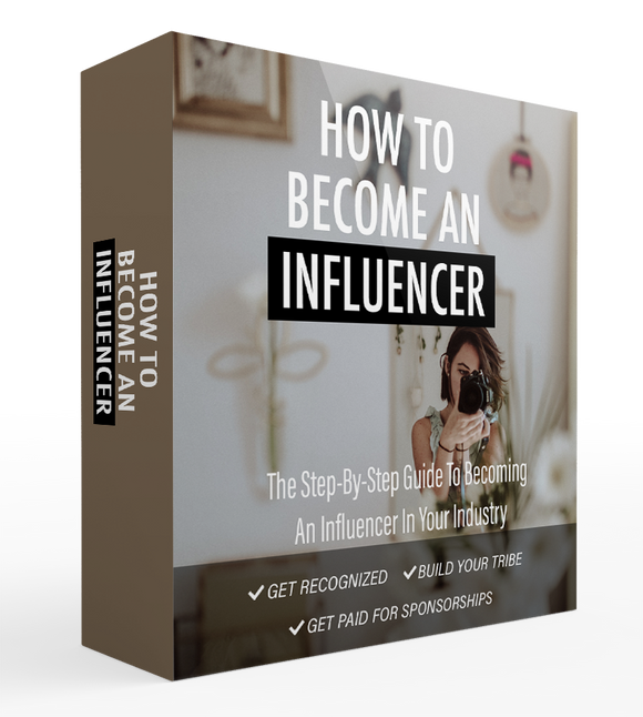 How To Be An Influencer Ebook Bundle