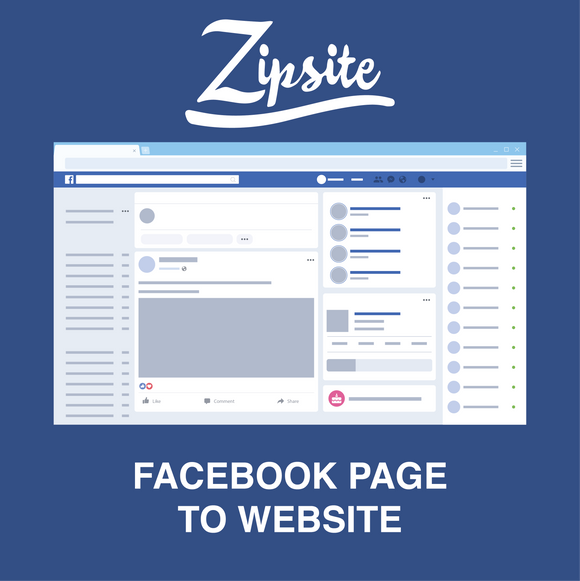 Facebook Page to Website