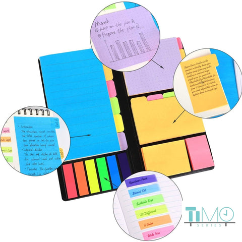 Ultimate Sticky Post-it Notes and Dividers for Diary, Bullet Journal Planner - Zipsite