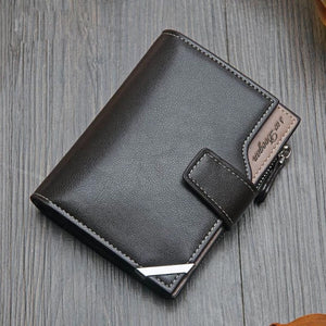 Casual men's multi function wallet