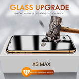 15D Protective Glass Full Cover For iPhone 6 6s 7 8 plus XR X XS