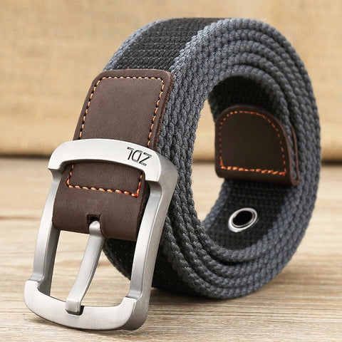 High quality canvas military outdoor belt