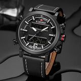 New Fashion Sport Waterproof Quartz Watch with Date LED Analog