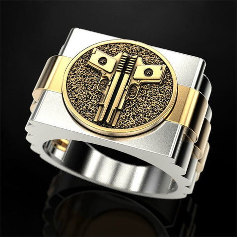 2020 New European American Personality Punk Men Ring