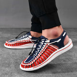 2020 Summer Men Sandals Fashion Handmade Weaving Design Breathable Casual