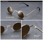 2020 Trending Wide Bridge Retro Rock Punk Men Sunglasses