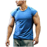 2020 Compression Breathable Workout Sleeveless Tshirt