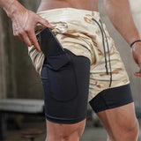 2020 New Men's Sport Shorts for Fitness Workout Running
