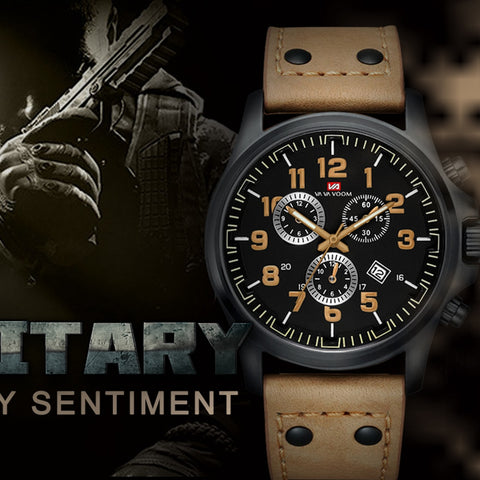 Military Sport Waterproof Quartz Watch Explosion Model
