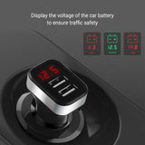 5V USB Car-Charger with LED Screen