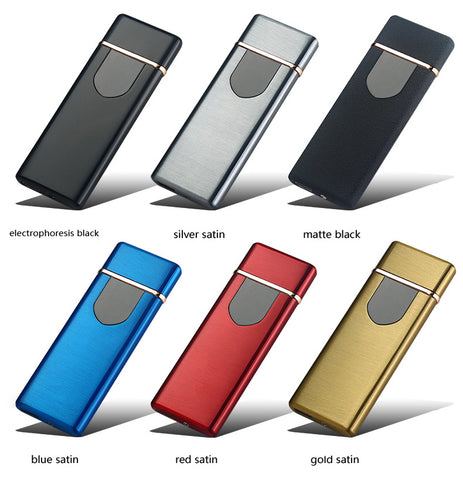 USB Charging Windproof Touch Lighter
