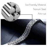 Fashion Classic Titanium Steel Men Magnetic Therapy Bracelet